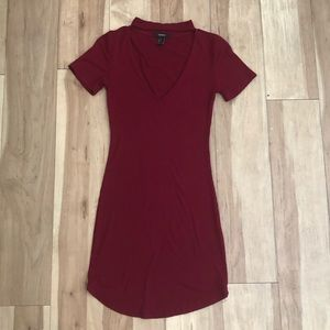 LIKE NEW Red Fitted Dress